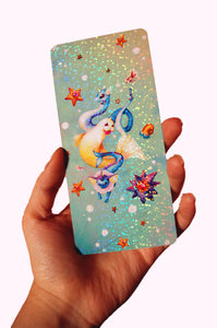 Holo Water Pokemon Bookmark