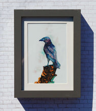 Load image into Gallery viewer, Magical Raven Watercolor Print