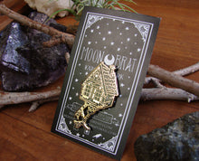 Load image into Gallery viewer, SECONDS Baba Yaga Witch Enamel Pin