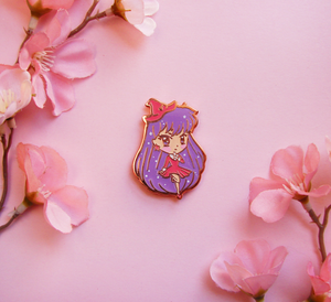 Mars Witch Enamel Pin