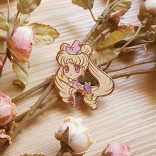 Load image into Gallery viewer, Moon Witch Enamel Pin