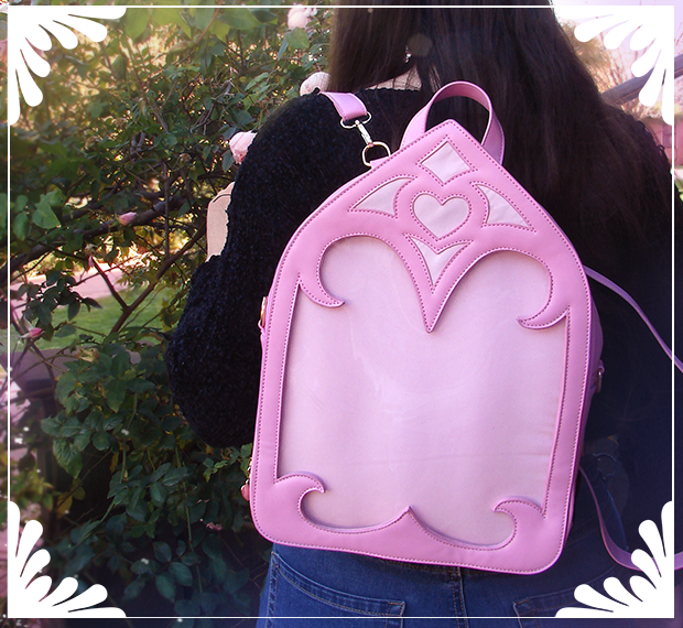 Magical Cathedral Ita Bag - Dawn Pink