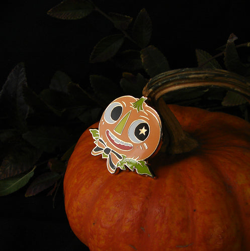 Seconds Pumpkin Dandy Enamel Pin