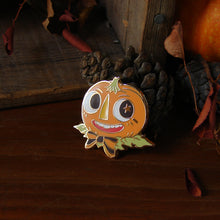 Load image into Gallery viewer, Pumpkin Dandy Enamel Pin