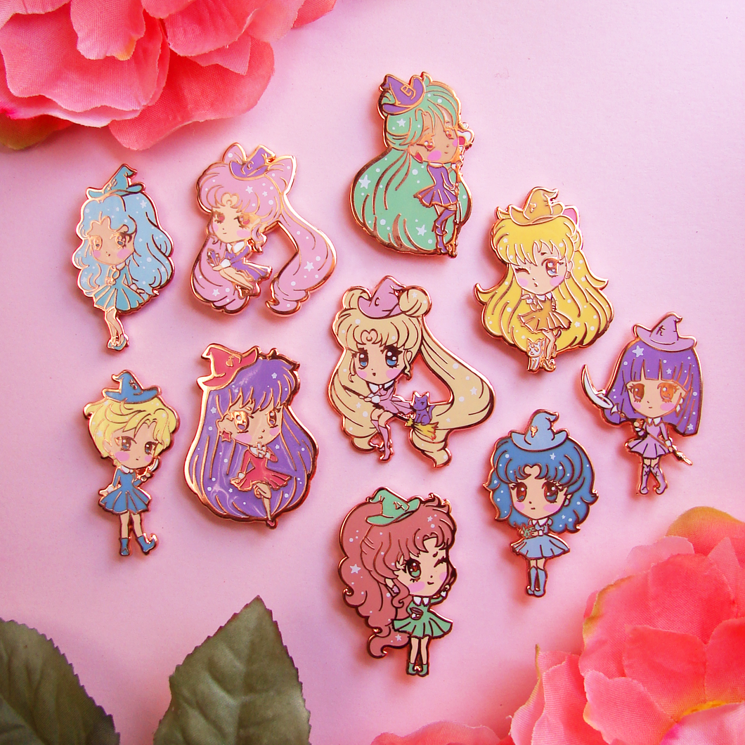 SECONDS Sailor Moon Witch Enamel Pins