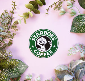 Starboks Coffee Sticker