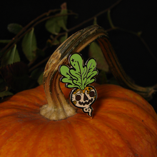 Load image into Gallery viewer, Jack O Lantern Enamel Pin