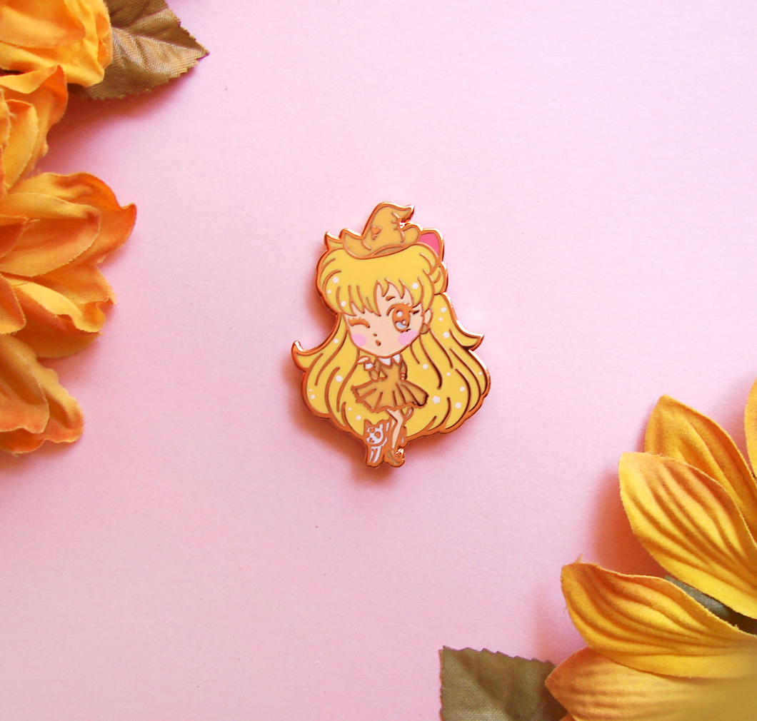 Venus Witch Enamel Pin