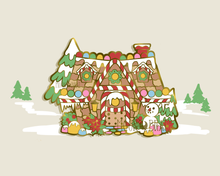 Load image into Gallery viewer, SECONDS Winter Animal Crossing Enamel Pin