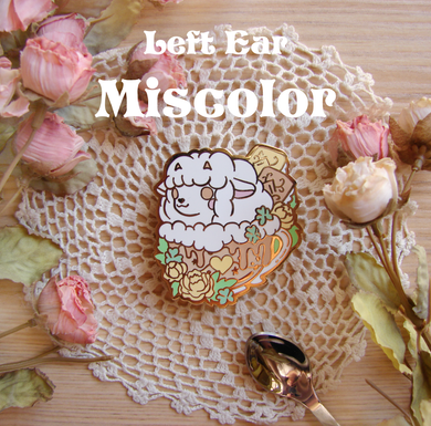 Miscolor Wooloo Latte Enamel Pin