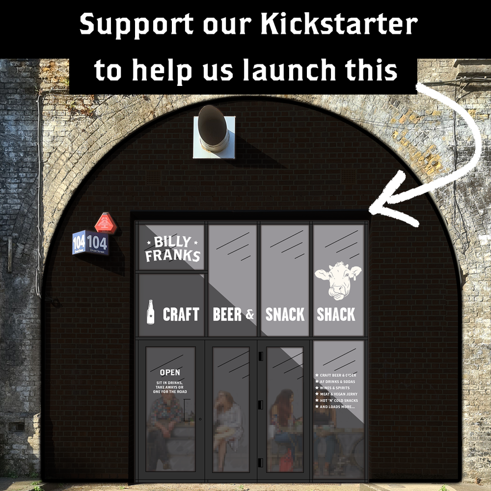 Help us open the Billy Franks Craft Beer & Snack Shack on Kickstarter!