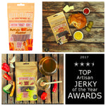 We've won FOUR International Top Artisan Jerky of the Year Awards!