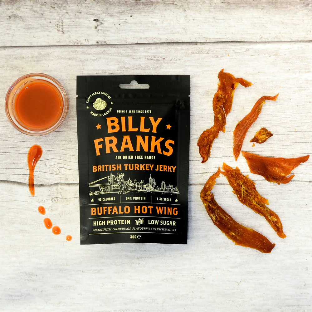 Buffalo Hot Wing Turkey Jerky (30g)