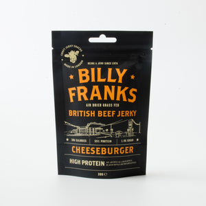 Load image into Gallery viewer, Cheeseburger Beef Jerky (30g)