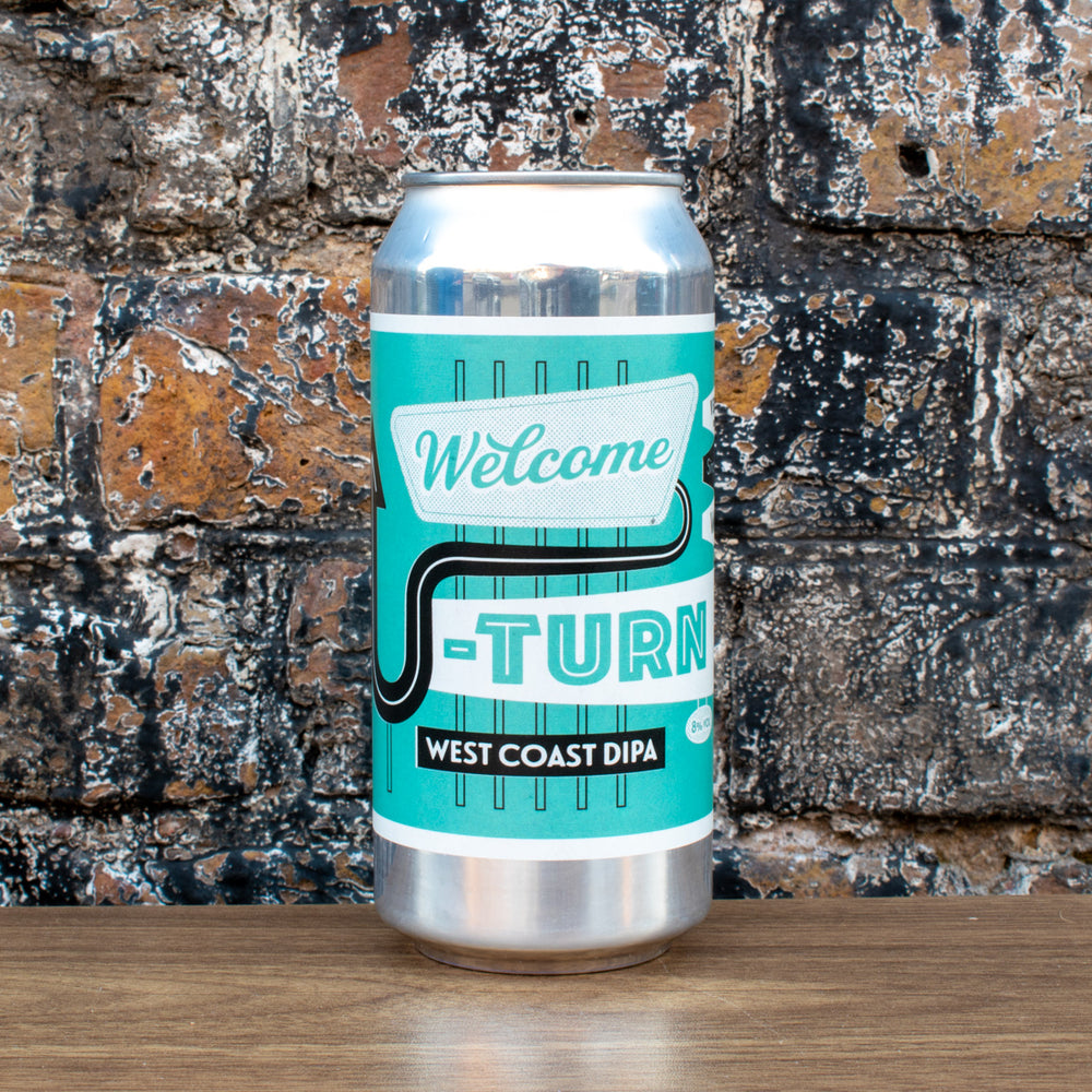 Verdant Welcome U-Turn West Coast DIPA 8% | 440ml