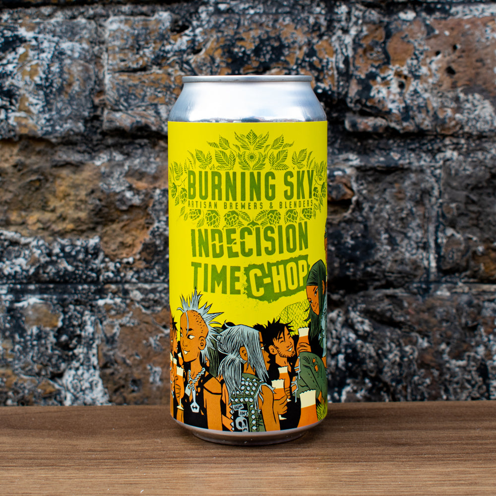 Burning Sky Brewery Indecision Time C-Hop Pale Ale 5.6% | 440ml