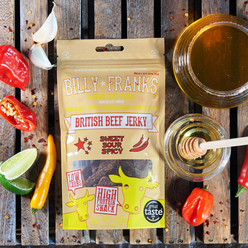 Sweet Sour & Spicy Beef Jerky