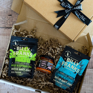 Boozy Jerky & Bacon Jam Gift Box