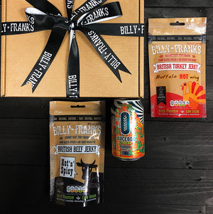Craft Jerky & Beer Pairing Gift Box | Fourpure Juicebox Citrus IPA