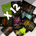 Billy Franks Jerky Club | Jerky Fiend Box (12 Bags)
