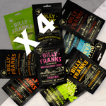 Billy Franks Jerky Club | Taster Box (4 Bags)