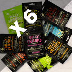 Billy Franks Jerky Club | Jerky Lover Box (6 Bags)