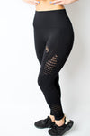 Legacy Legging Black/Gold - BIG Gymwear Ltd