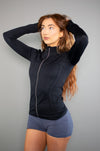 Define Jacket (Black) - BIG Gymwear Ltd