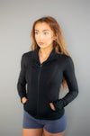 Evolution Jacket (Black) - BIG Gymwear Ltd