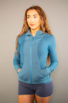 Evolution Jacket (Blue) - BIG Gymwear Ltd