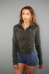Recreation Jacket (Khaki Green) - BIG Gymwear Ltd
