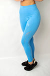 Legacy Legging Light Blue - BIG Gymwear Ltd