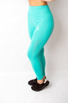Legacy Legging Tropical Blue - BIG Gymwear Ltd