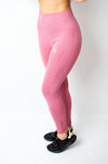 Legacy Legging Pink - BIG Gymwear Ltd