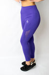 Legacy Legging Purple - BIG Gymwear Ltd
