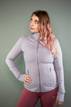 Exertion Jacket (Dawn Grey) - BIG Gymwear Ltd