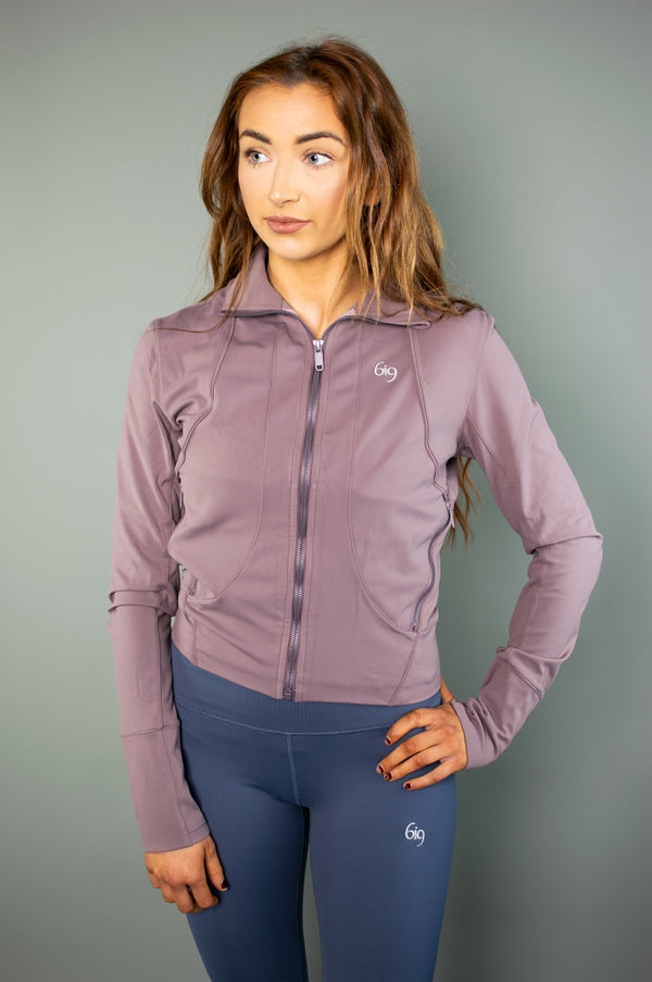 Recreation Jacket (Grey) - BIG Gymwear Ltd
