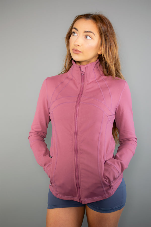 Exertion Jacket (Blue) - BIG Gymwear Ltd