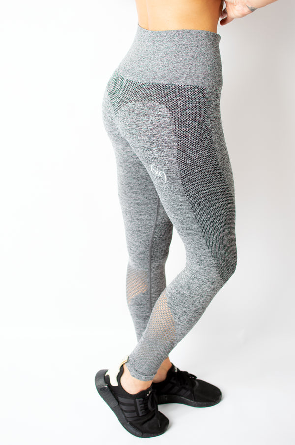 Power Pant Grey - BIG Gymwear Ltd