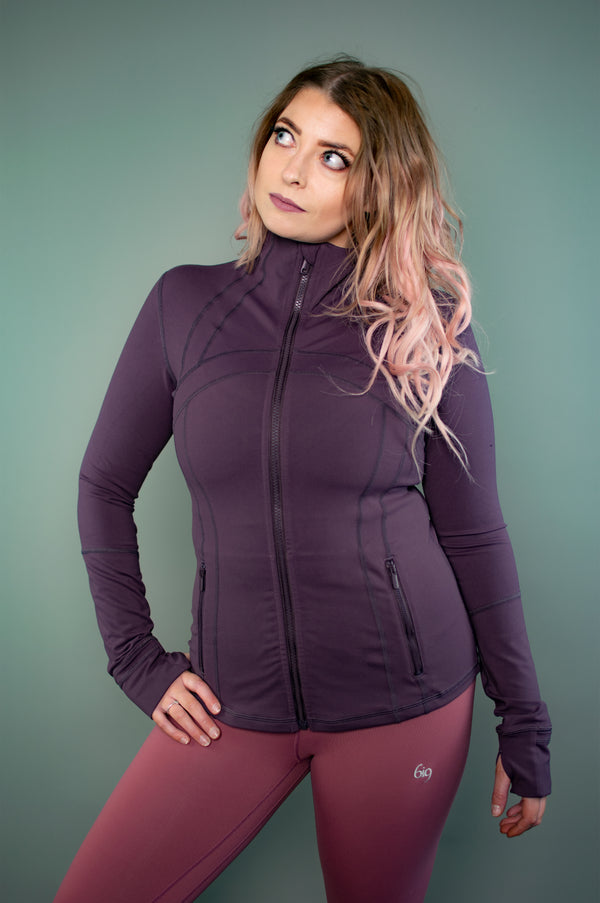 Exertion Jacket (Merlot Red) - BIG Gymwear Ltd