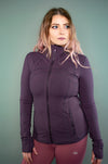 Exertion Jacket (Deep Purple) - BIG Gymwear Ltd
