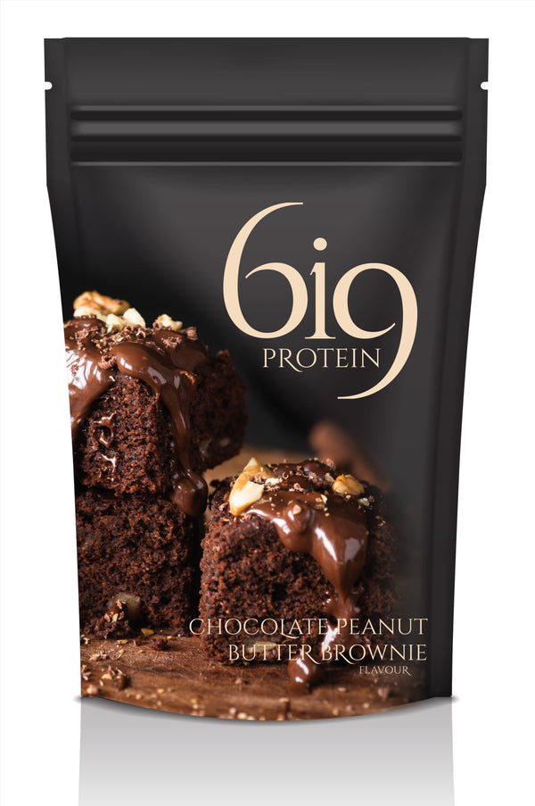 6i9 WHEY PROTEIN - 1KG BAGS (DOUBLE CHOCOLATE MOUSSE) - BIG Gymwear Ltd