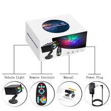 Load image into Gallery viewer, New LED Stary Sky Projection Lamp Nebula Laser Light