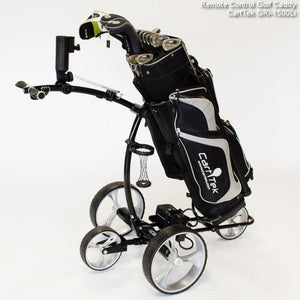 Cart Tek Remote Control Electric Golf Cart Trundler Caddy