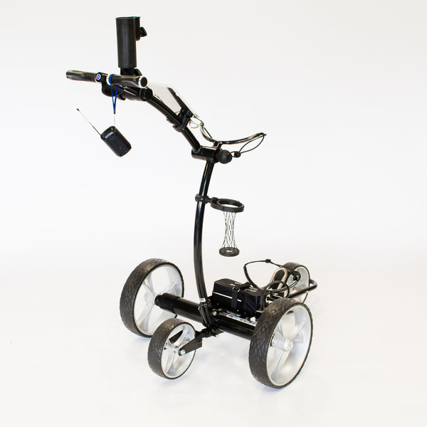 3-in-1 CartTek GRi-1500Li Remote Control Electric Battery Golf Cart Trundler Trolley