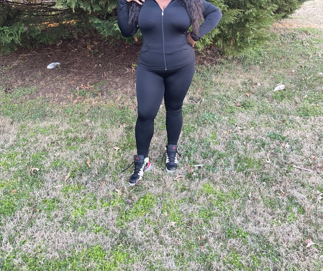 Plus Size Jogger Set