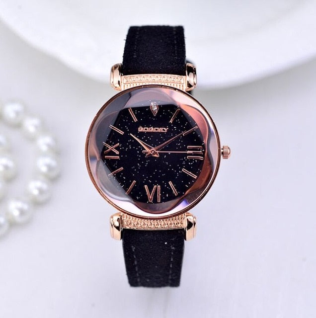 Women's Leather Casual Watches