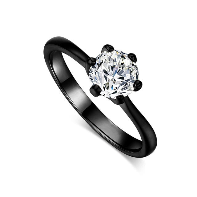 Double Fair 6 Claw 1 Carat Cubic Zirconia Ring
