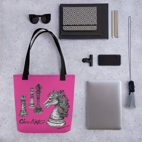 Tote bag - Chess Mate Pink