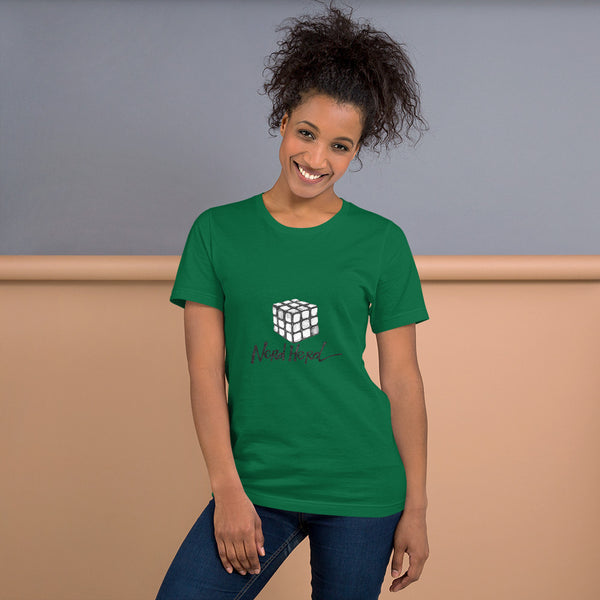 Short-Sleeve Unisex T-Shirt - Nerd Herd - Cube